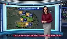 Bản tin thời tiết 12h30 - 23/01/2019