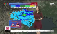Bản tin thời tiết 11h30 - 23/10/2019