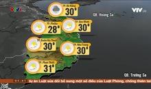 Bản tin thời tiết 5h30 - 18/11/2019