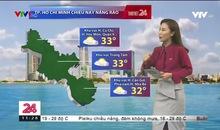 Bản tin thời tiết 11h30 - 19/11/2019