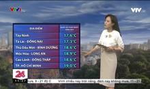 Bản tin thời tiết 11h30 - 07/12/2019