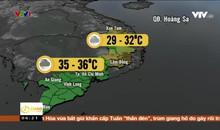 Bản tin thời tiết 6h15 - 25/3/2019
