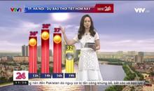 Bản tin thời tiết 11h30 - 20/4/2019