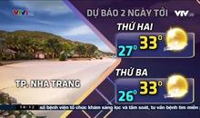 Bản tin thời tiết 18h15 - 21/4/2019
