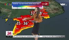 Bản tin thời tiết 18h45 - 25/4/2019