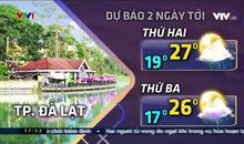 Bản tin thời tiết 18h - 19/5/2019