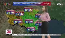 Bản tin thời tiết 11h30 - 22/5/2019