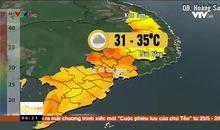 Bản tin thời tiết 6h15 - 24/5/2019