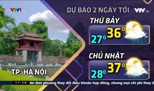 Bản tin thời tiết 18h - 24/5/2019