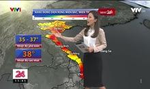 Bản tin thời tiết 11h30 - 25/5/2019