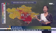 Bản tin thời tiết 18h - 15/6/2019