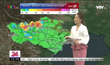 Bản tin thời tiết 18h45 - 18/6/2019