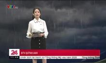 Bản tin thời tiết 11h30 - 19/6/2019