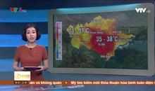 Bản tin thời tiết 6h15 - 20/6/2019
