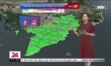 Bản tin thời tiết 11h30 - 23/7/2019