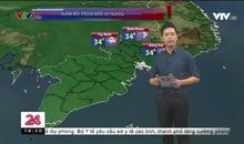 Bản tin thời tiết 18h45 - 25/8/2019