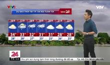 Bản tin thời tiết 18h45 - 15/9/2019