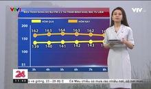 Bản tin thời tiết 11h30 - 17/9/2019