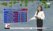 Bản tin thời tiết 11h30 - 19/9/2019