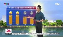 Bản tin thời tiết 11h30 - 21/9/2019