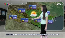 Bản tin thời tiết 12h30 - 21/9/2019