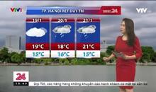 Bản tin thời tiết 18h45 - 17/01/2020