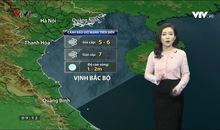 Bản tin thời tiết 9h10 - 17/01/2020