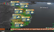 Bản tin thời tiết 5h30 - 19/01/2020