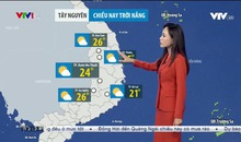 Bản tin thời tiết 12h30 - 04/12/2020