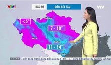 Bản tin thời tiết 19h45 - 04/12/2020