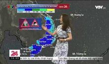 Bản tin thời tiết 18h45 - 05/6/2020