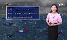 Bản tin thời tiết 9h10 - 13/7/2020