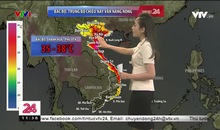 Bản tin thời tiết 11h30 - 09/7/2020