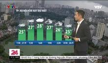 Bản tin thời tiết 11h30 - 27/9/2020