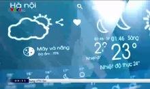 Bản tin thời tiết 9h10 - 18/01/2021