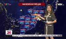 Bản tin thời tiết 11h30 - 19/01/2021