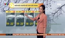 Bản tin thời tiết 5h30 - 22/01/2021