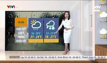 Bản tin thời tiết 19h45 - 24/01/2021