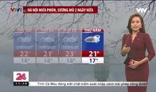 Bản tin thời tiết 11h30 - 25/01/2021