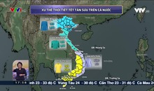 Bản tin thời tiết 18h - 26/01/2021