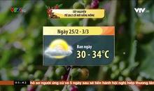 Bản tin thời tiết 5h30 - 25/02/2021
