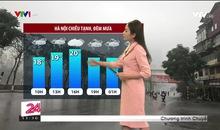 Bản tin thời tiết 11h30 - 28/02/2021