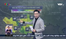 Bản tin thời tiết 18h - 01/3/2021