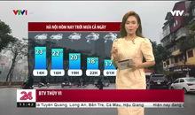 Bản tin thời tiết 11h30 - 01/3/2021