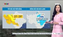 Bản tin thời tiết 12h30 - 01/3/2021