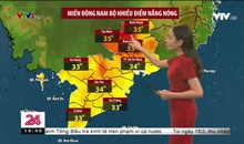 Bản tin thời tiết 18h45 - 01/3/2021