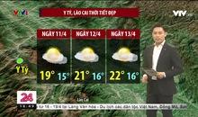 Bản tin thời tiết 18h45 - 10/4/2021