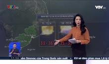 Bản tin thời tiết 18h - 10/4/2021