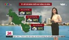 Bản tin thời tiết 11h30 - 10/4/2021