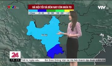 Bản tin thời tiết 18h45 - 17/4/2021